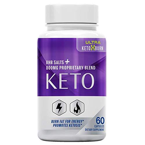 Ultra Keto x Burn, BHB Salts + 800 MG Proprietary Blend, Burn Fat for Energy, Promotes Ketosis