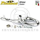 PINASCO Silenciador completo Racing cromado Piaggio Vespa PX Cosa 125 150 – LML Star 2T Art. 25560815