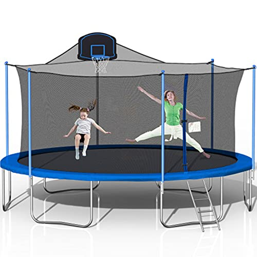 STARTOGOO 1000 LBS 16FT Trampoline for Adults, Outdoor...