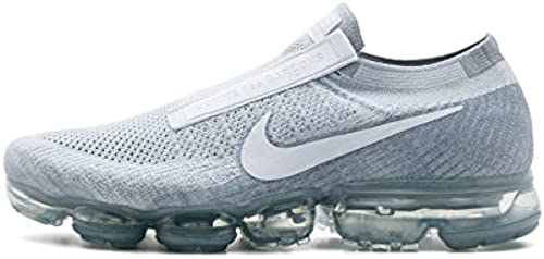 """Nike Air VaporMax Flyknknit """"CDG Comme Des Garcons"""" - Pure Platinum Wht-Wlf Gry 42 EUR"""