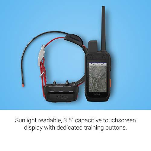 "Garmin Alpha 200i/TT 15 Dog Tracking and Training Bundle, Handheld and Collar, Utilizes inReach Technology, Sunlight-readable 3.6"" Touchscreen (010-02230-00), Black"
