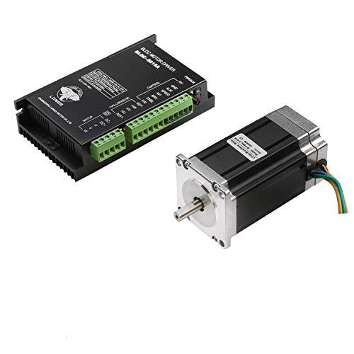 LS 57BLF02 Brushless DC motor,3000RPM, 125W 24VDC,3phase & driver BLDC-8015A 24~50VDC