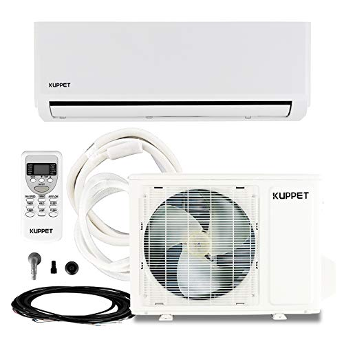 KUPPET Mini Split Air Conditioners Heat Pump with Cooling & Heating 12000BTU 115V/1600W