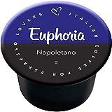 Italian Coffee - Euphoria Napoletano - Lote de 100 cápsulas de café compatibles con las cafeteras Lavazza Blue e In Black de Nims