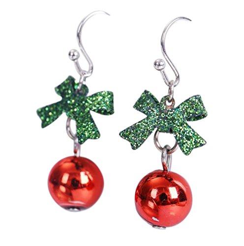 Nikgic Mode Style de Noël Boucles d'oreilles Boucles d'oreilles Dame Boucles d'oreilles Pendentif