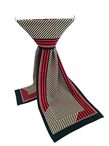 HVTKL pañuelos de Tela Escocesa 2019 de los Hombres de Punto Bufandas de la Manera Coreana Bufandas Hombres Europeos y Americanos (Color : 17, Size : 35-185CM)