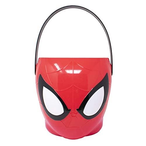 Spiderman Marvel - Character Bucket - Children?s Halloween Trick or Treat Candy and Storage Pail