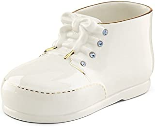 Lenox Baby Shoe with Blue Crystals