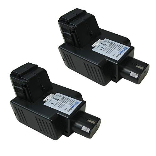 2x Trade-Shop Premium Ni-MH Akku, 24V / 3300mAh / 79Wh ersetzt Hilti BP60, BP72 für Hilti C 7/24, C 7/36, TCU 7/36, TE 5 A