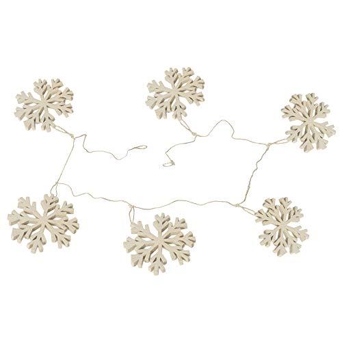 De KultureTM handgemaakte vilt sneeuwvlok slinger 48