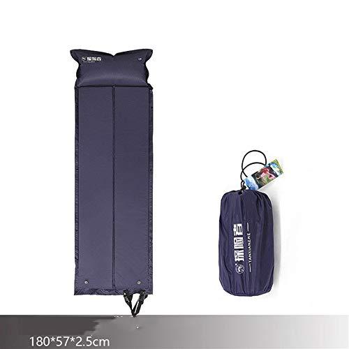 Ybqy Le Camping de Plein air Explorer Peut être assemblé en Coussins gonflables automatiques rabattables avec Tapis (Size : 180 * 57 * 2.5)