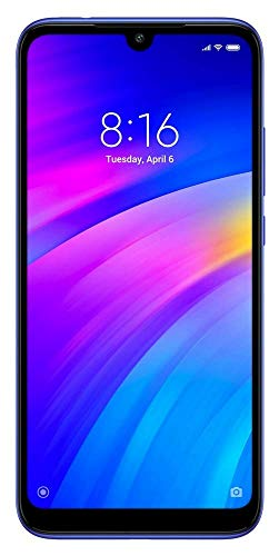 Redmi 7 (Comet Blue, 2GB RAM, SD 632, 32GB Storage, 4000mAH Battery)