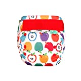TOTSBOTS- EasyFit Star All-in-One Reusable Nappies - Super-Absorbent Cloth Nappies, One Size (Napple, 8-35lbs)