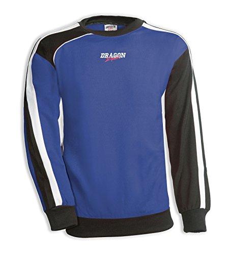 DragonSport Sweatshirt COMBINATION, Farbe:royal/schwarz, Größe:3XL