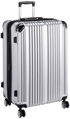 [アイダディ] 【idadi】キャリーケース スーツケース M-7025 保証付 80L 70 cm 4.7kg M7025L-95 シルバー