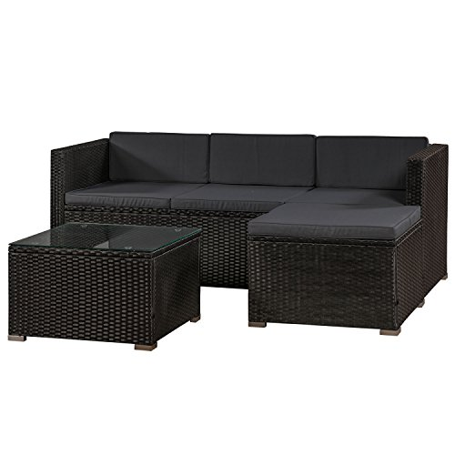 rattan couch balkon