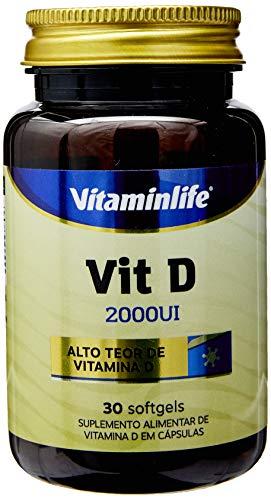 Vitamina D 2000UI - 30 Softgels, VitaminLife