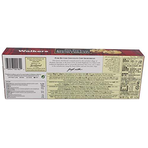 ウォーカー ショートブレッド チョコチップ 175g [1824]