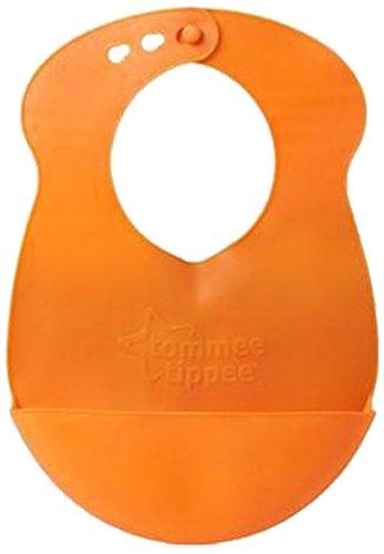 Tommee Tippee Explora Bavaglino Roll N Go avvolgibile, Arancione