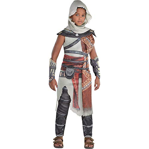 Party City Bayek Halloween Costume for Boys, Assassin's Creed, Extra Large, Includes Accessories