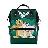 FHTDH Bébé et Puériculture Poussettes, landaus et accessoires Accessoires de poussettes Sacs à langer Fourre-tout Diaper Bags Backpack Purse Mummy Backpack Nappy Bag Cool Cute Travel Backpack Laptop B