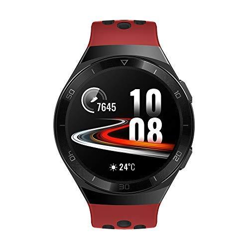 """HUAWEI WATCH GT 2e Smartwatch, 1.39"""" AMOLED HD Touchscreen, GPS e GLONASS, Auto Rileva 6 Sport, Tracking di 15 Sport Diversi, VO2Max, Battito Cardiaco in Tempo Reale, Rosso (Lava Red)"""