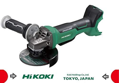 Hikoki G3613DBW2Z haakse slijper met paddle-schakelaar, G3613DB (Basic) (HSC III) – 36 V, zonder accu en oplader
