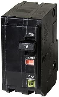 QO 15 Amp Two-Pole Circuit Breaker