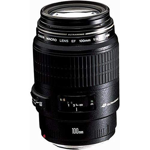 Canon EF 100mm F2.8 USM Macro Objektiv (58 mm Filtergewinde) schwarz (Generalüberholt)