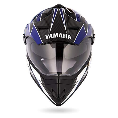 Yamaha YR8 Full Face Helmet (Blue, L)