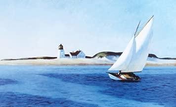 Buyartforless The Long Leg Edward Hopper 7x5 (Card Size) Art Print Poster Wall D'cor American Museum Master