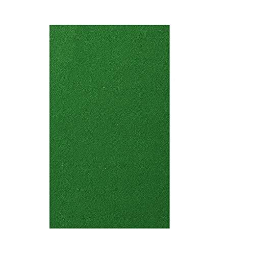 Mantel de fieltro para mesa de billar, Snooker para interiores, deportes, mesa de juego con tira de tela acolchada para mesa de billar de 9 pies, Verde, 2.8