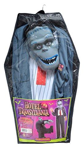 Ciao- Hotel Transylvania Costume Frank con Maschera per Bambini, Grigio, 8-10 anni, 11150.8-10