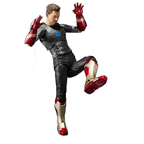 Decddae Marvel Avengers Tony Stark Zeichentrickfigur Bewegliches Modell