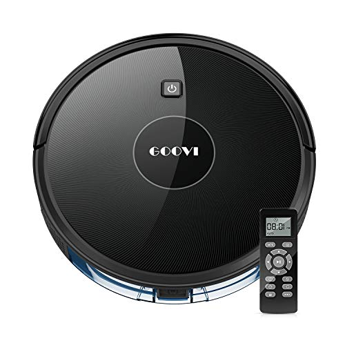 Cheapest Price! Robot Vacuum, GOOVI Robotic Vacuum Cleaner (Slim) Max Strong Suction, Quiet Multiple...