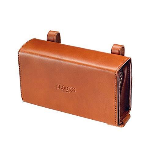 Brooks England D-Shaped Tool Bag Bolsa de Herramientas en Forma de D, Unisex, marrón Miel, Talla única