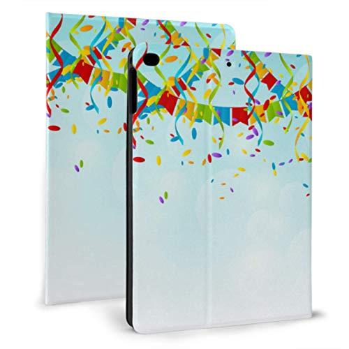 Kids Shockproof Ipad Case Colorful Bright Ribbon Child Ipad Cover For Ipad Mini 4/mini 5/2018 6th/2017 5th/air/air 2 With Auto Wake/sleep Magnetic Protective Ipad Case