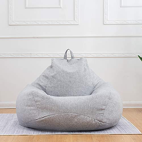 ビーズクッション特大座布団人をダメにするソファ一人掛けビーズソファ足枕が付くセット80*90cmもちもち低反発クッション洗えるライトグレー