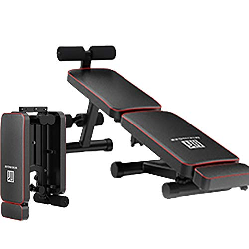 HAOYF Banc De Musculation Professionnel, Banc De Musculation Inclinable Pliable, Station De Musculation Multifonction Machine Sport Fitness