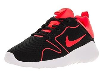Nike Men s Kaishi 2.0 BR Black/Total Crimson/White Mesh Running Shoe 11
