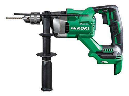 HiKOKI(ハイコーキ) 36V コードレス 振動ドリル D型ハンドル キー付きドリルチャック式 蓄電池・充電器・ケース別売り DV3620DA(NN)