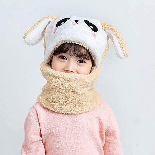 Sombrero de Invierno para niños más Gorros de Lana para niños, Gorro de Dibujos Animados para niñas, Bufanda para niños, Gorro Grueso, fotografía para recién Nacidos, Cosas para bebés-a21