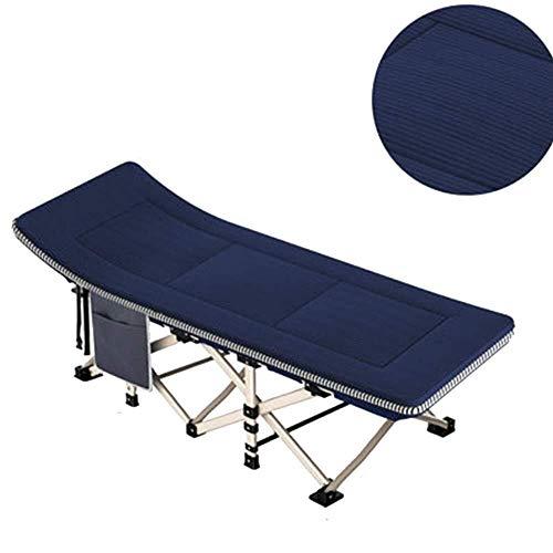 Wangczdy Sun Lounge Chair Klappbett Camping Kinderbetten, Büro Erwachsene tragbare Feldbett Lounge Chair Schlafsessel Small Space Design (Size : A)
