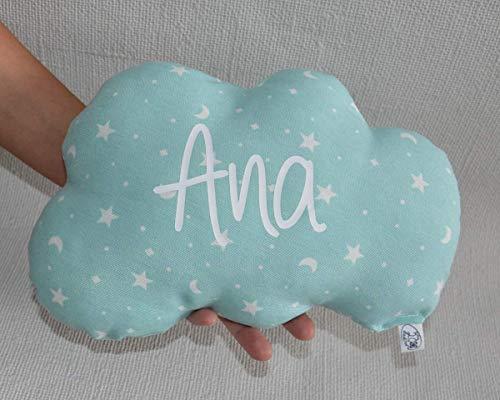 Cojín nube para bebé personalizado.¡Aprovecha que hemos bajado el precio!(Antes 13,95€)
