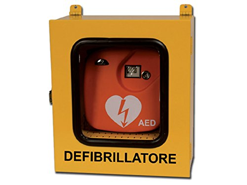 Gima 35334 Armadietto per Defibrillatori, Uso Esterno