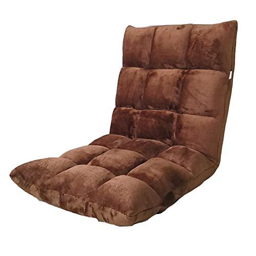 Klappsofa- Faltbare abnehmbare Reinigung Faule Couch, Einzelzimmer Schlafzimmer Balkon Schlafsaal kleine Schlafcouch Rückenlehne Falten niedlichen Boden Stuhl (Farbe : I, größe : S)