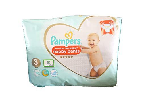 Pampers 81680045 Baby-Dry Pants windelhose, weiß