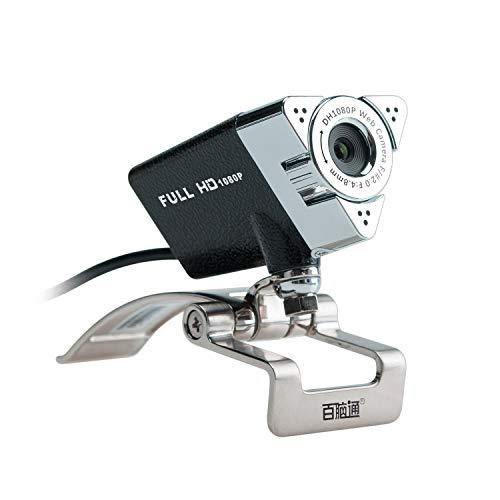 Songway Webcam 1080P Full HD USB Web Kamera PC Webcam Netzwerkkamera Computer Kamera mit eingebautem Mikrofon für PC,YouTube, Skype und Internet Chat