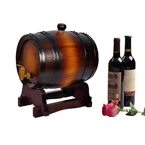 Estilo de vino Barril de vino Barril de madera maciza Barril de vino puro Roble de vino Barril de madera Barril de madera Mini Barril de vino Dispensador de vino para envejecer su whisky agave brandy