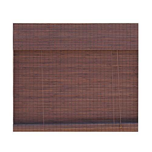 Bambusrollo Bambusrollos, Verdunkelungsvorhang mit Sidepull und Valance, für Wohnzimmer/Teehaus/abschneiden (größe : 110×160cm)